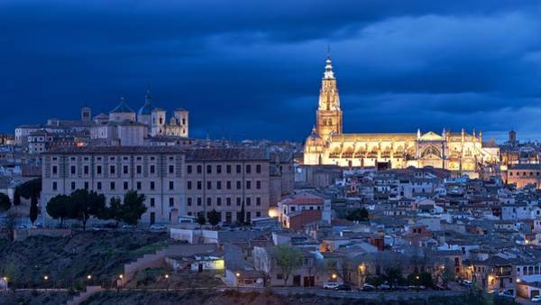 Photograph - The Cathedral Of Toledo by Stephen Taylor