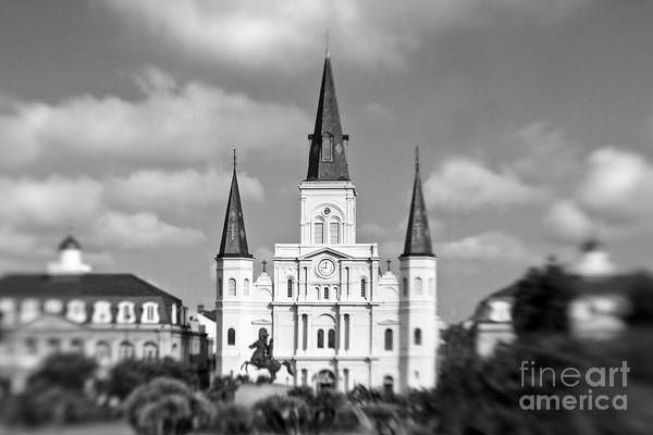 St. Louis Photograph - The Cathedral - Bw by Scott Pellegrin