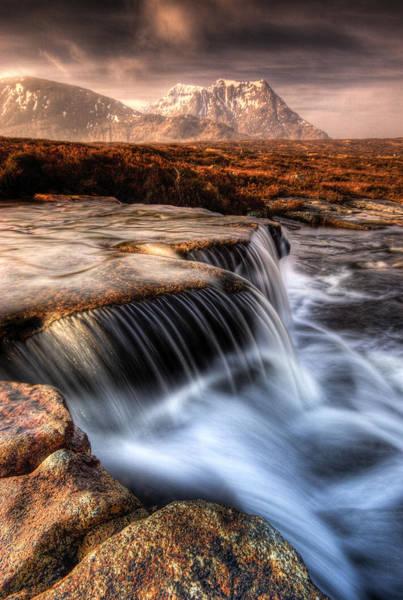 Moor Photograph - The Cauldron Glencoe by David Mould