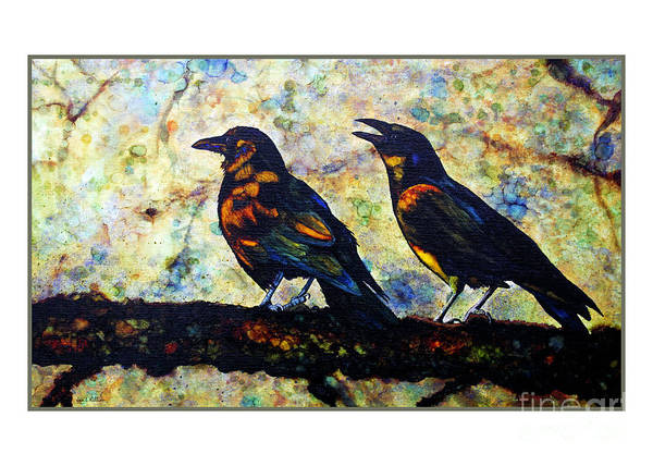 Painting - The Caw by Jan Killian