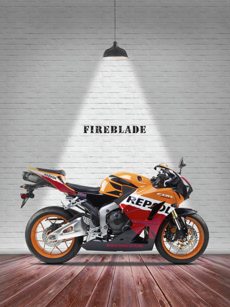 Wall Art - Photograph - The Cbr1000rr Motorcycle by Mark Rogan