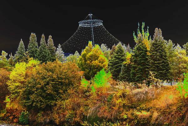 Spokane Digital Art - The Center Of Downtown Spokane by Ben Upham III