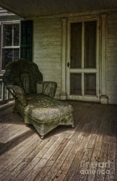 Photograph - The Chaise Lounge by Debra Fedchin