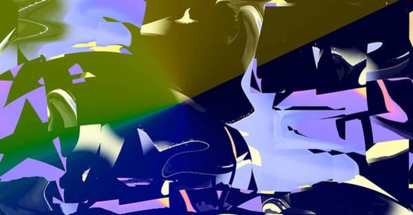 Digital Art - The Challenge by rd Erickson