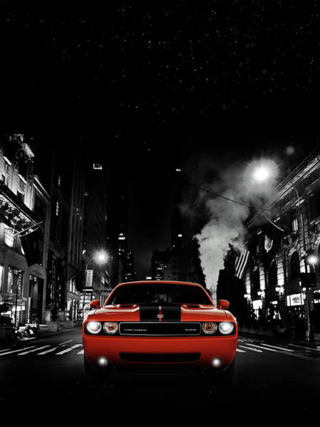 Challenger Photograph - The Challenger Srt8 by Mark Rogan