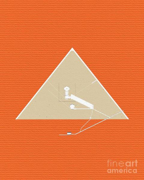 Wall Art - Painting - The Chambers, Great Pyramid, Giza by Pierre Blanchard