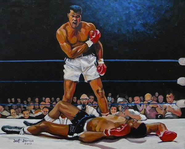 Painting - The Champ by Jeanette Jarmon