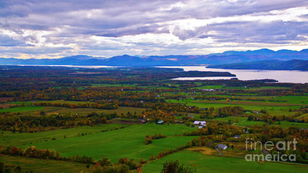 Photograph - The Champlain Valley by Scenic Vermont Photography