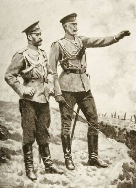 Caucasian Drawing - The Changes In The Russian Command by Vintage Design Pics