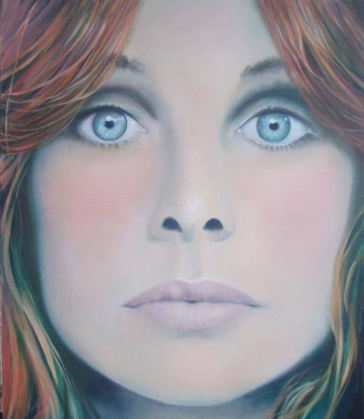 Painting - The Changing Face. by Caroline Philp