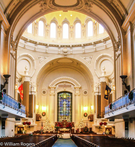 Wall Art - Photograph - The Chapel Altar by William Rogers