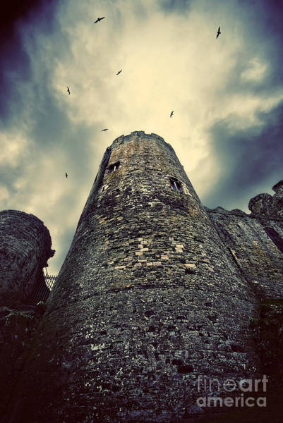 Wall Art - Photograph - The Chapel Tower by Meirion Matthias