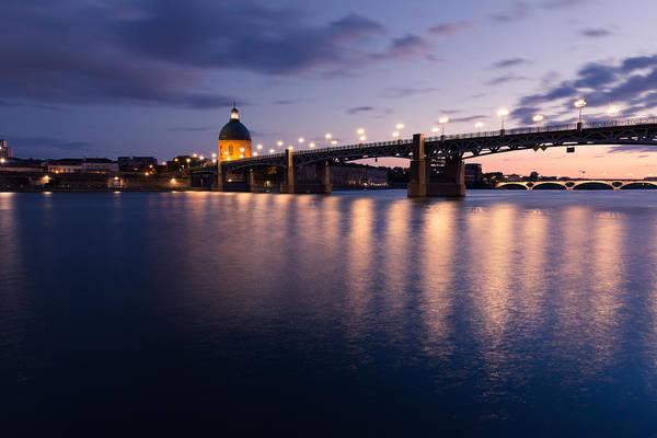 Chapel Bridge Photograph - The Chappelle And Pont Saint-pierre by Semmick Photo