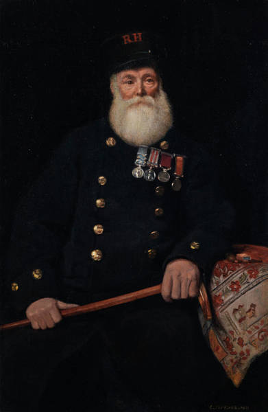 Rocking Chairs Painting - The Chelsea Pensioner by Charles Spencelayh