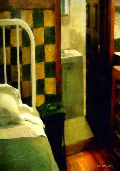 Painting - The Chequered Room by RC DeWinter