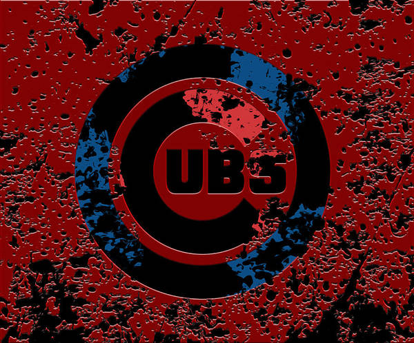 Babe Mixed Media - The Chicago Cubs 1d by Brian Reaves