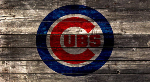 Babe Mixed Media - The Chicago Cubs 1w by Brian Reaves