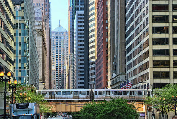 Photograph - The Chicago L  by Allen Beatty