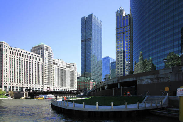 Photograph - The Chicago River by Jackson Pearson