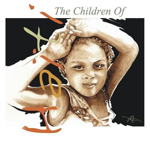 Haiti Painting - The Children Of Haiti Collection by Bob Salo