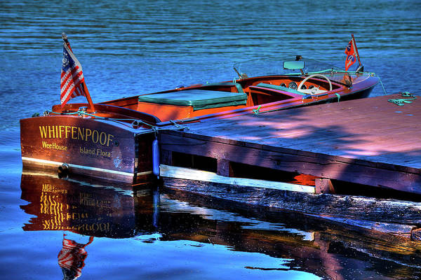 Photograph - The Vintage 1958 Chris Craft by David Patterson