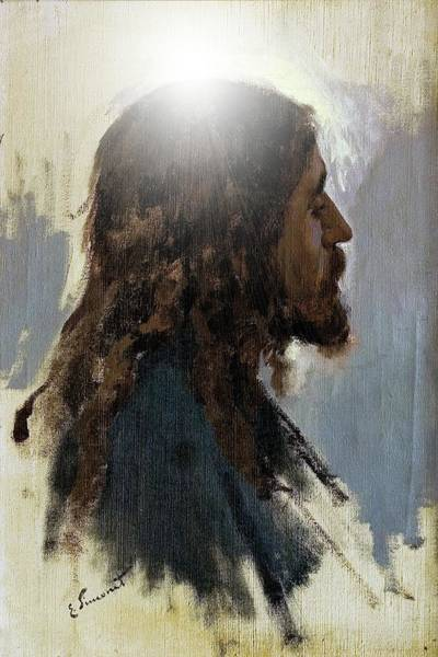 Digital Art - The Christ by John Feiser