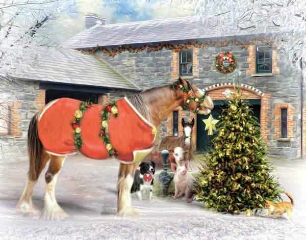Wall Art - Digital Art - The Christmas Star by Trudi Simmonds