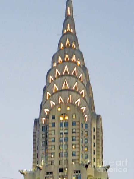 Photograph - The Chrysler At Dusk by Rick Locke