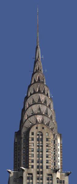 Photograph - The Chrysler Building - Deco Detail by Rona Black