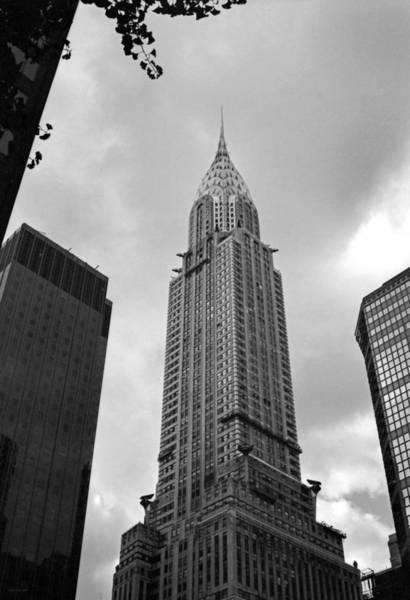Photograph - The Chrysler Building by Frank Mari