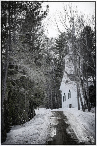 Photograph - The Church At Head Tide by John Meader