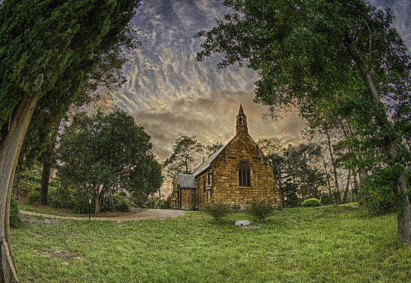 Photograph - The Church by Chris Cousins