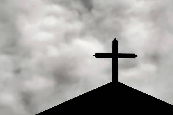 Photograph - The Church Cross by Don Johnson