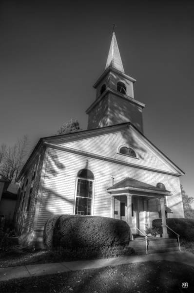 Photograph - The Church In China Village by John Meader
