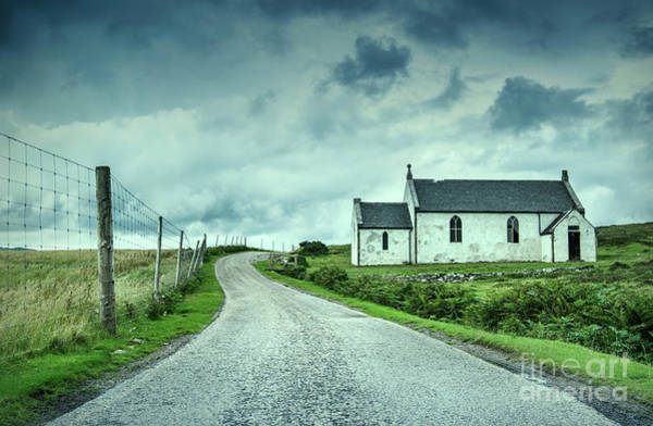 The Church In The Highlands Art Print