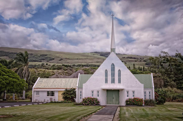 Photograph - The Church by Jim Thompson