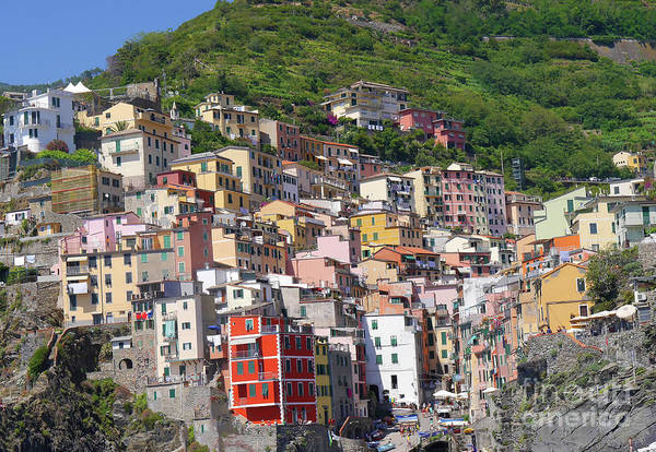 Photograph - The Cinque Terra Or Five Lands by Brenda Kean