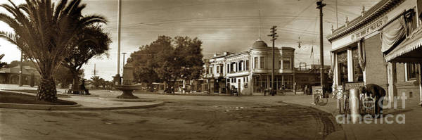 Photograph - The Circle, Palo Alto Circa 1905 by California Views Archives Mr Pat Hathaway Archives