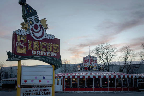Photograph - The Circus Drive In Wall Township Nj by Terry DeLuco