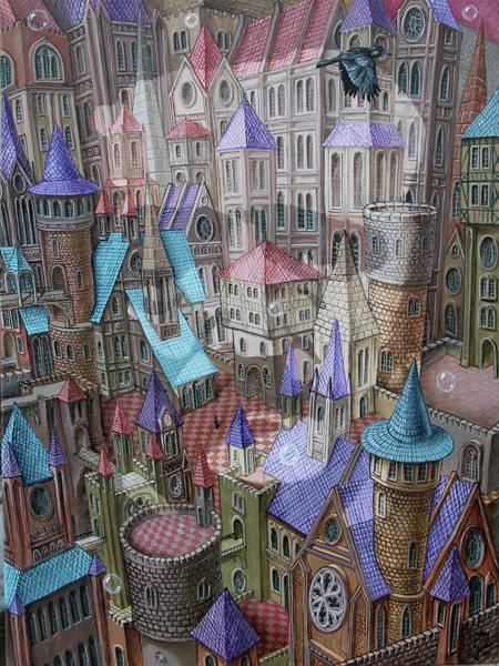 The City Of Crow Art Print