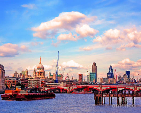 Wall Art - Photograph - The City Of London By Day by Chris Smith