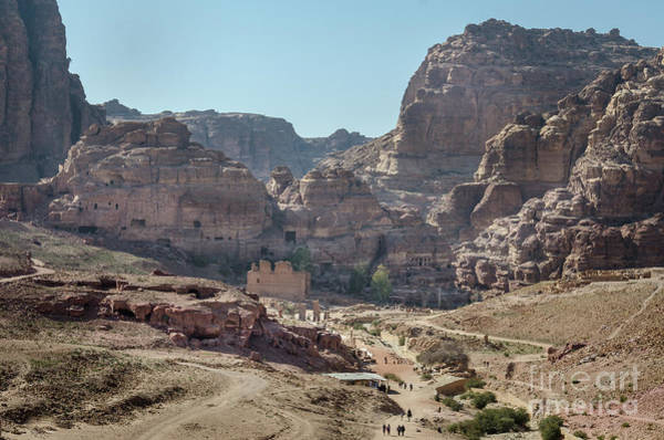 Photograph - The City Of Petra, Jordan by Perry Rodriguez