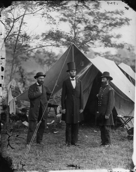 Antietam Photograph - The Civil War, Antietam, Md. Allan by Everett