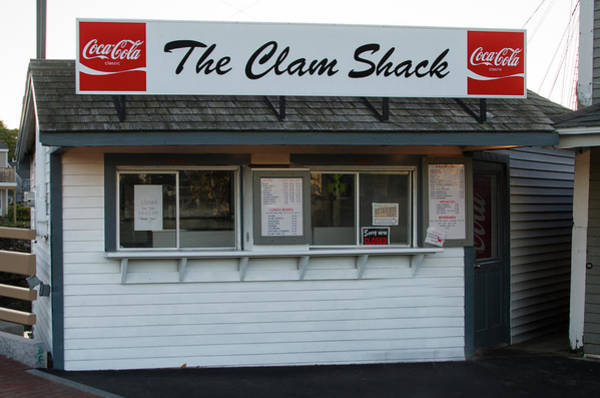 Wall Art - Photograph - The Clam Shack - Kennebunkport Maine by Bill Cannon