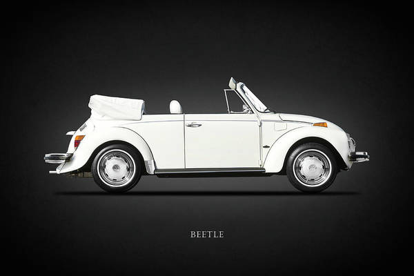 Volkswagen Wall Art - Photograph - The Classic Beetle by Mark Rogan