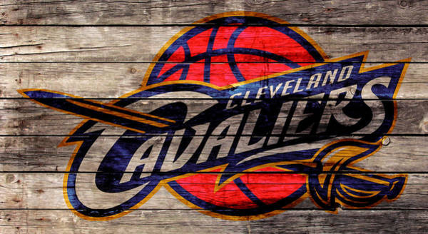 Wall Art - Mixed Media - The Cleveland Cavaliers 2w by Brian Reaves