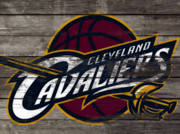 Wall Art - Mixed Media - The Cleveland Cavaliers 3f      by Brian Reaves