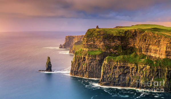 Wall Art - Photograph - The Cliffs Of Moher - Ireland by Henk Meijer Photography