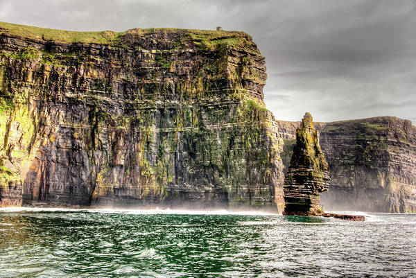 Gaelic Photograph - The Cliffs Of Moher by Natasha Bishop