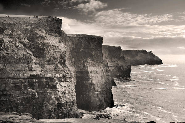 Moher Photograph - The Cliffs Of Moher by Robert Lacy